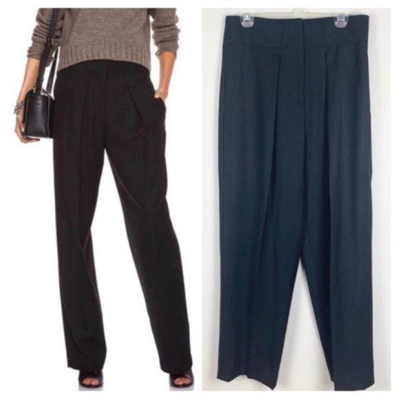 3.1 Phillip Lim Wool Gabardine Wide Leg Pants